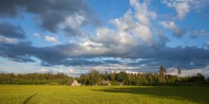 Boerderij in Letland
